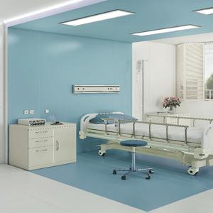 پرسلان بیمارستانی سبز و آبی و سفید60در120