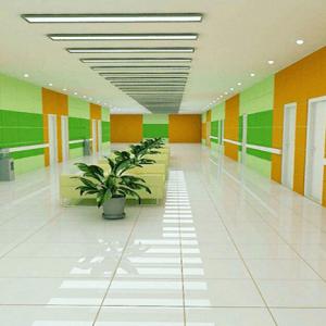 پرسلان بیمارستانی پرتغالی و سبز روشن 60در120