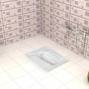 توالت زمینی گلایل