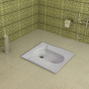توالت زمینی پارمیس طبی